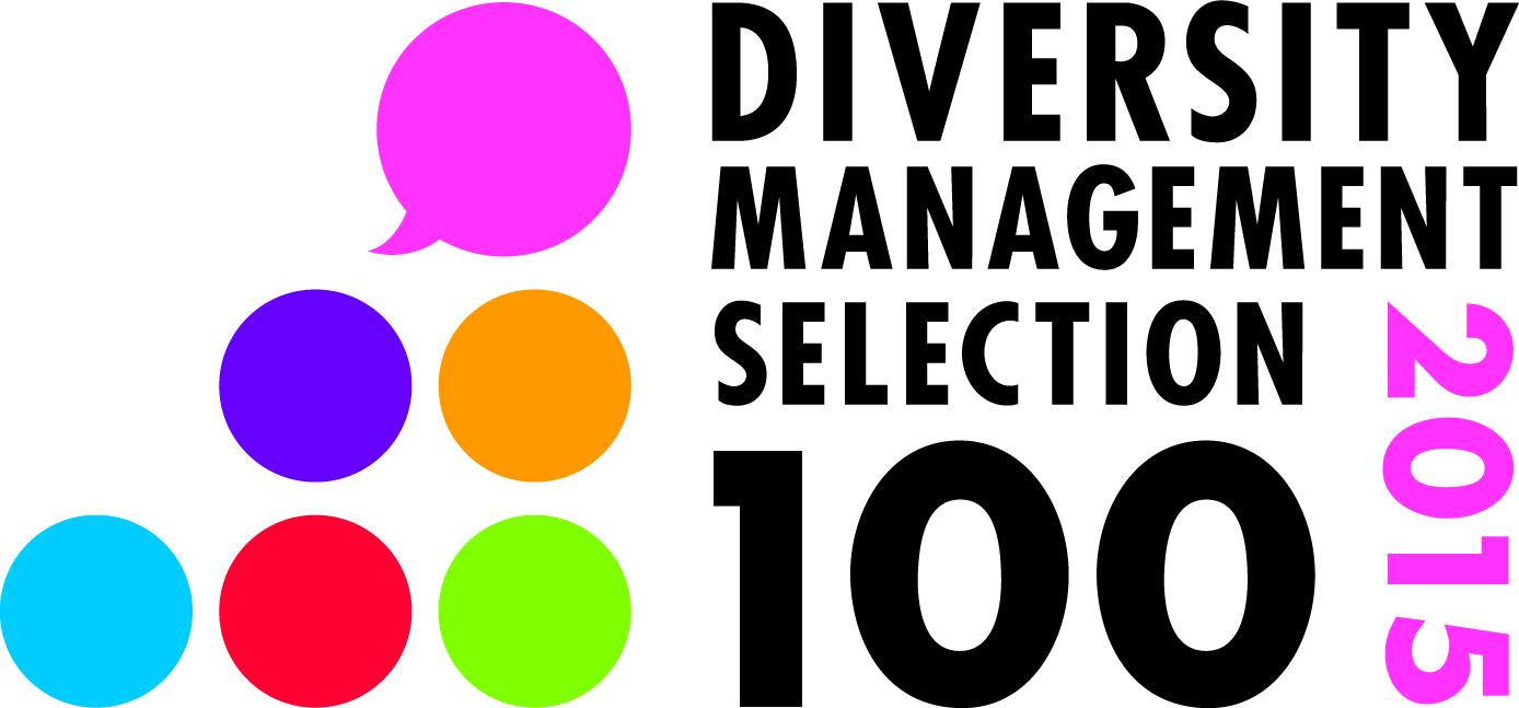 ダイバーシティ経営企業100選2015に選出されました。